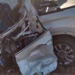 Veiculo envolvido no acidente da BR 262